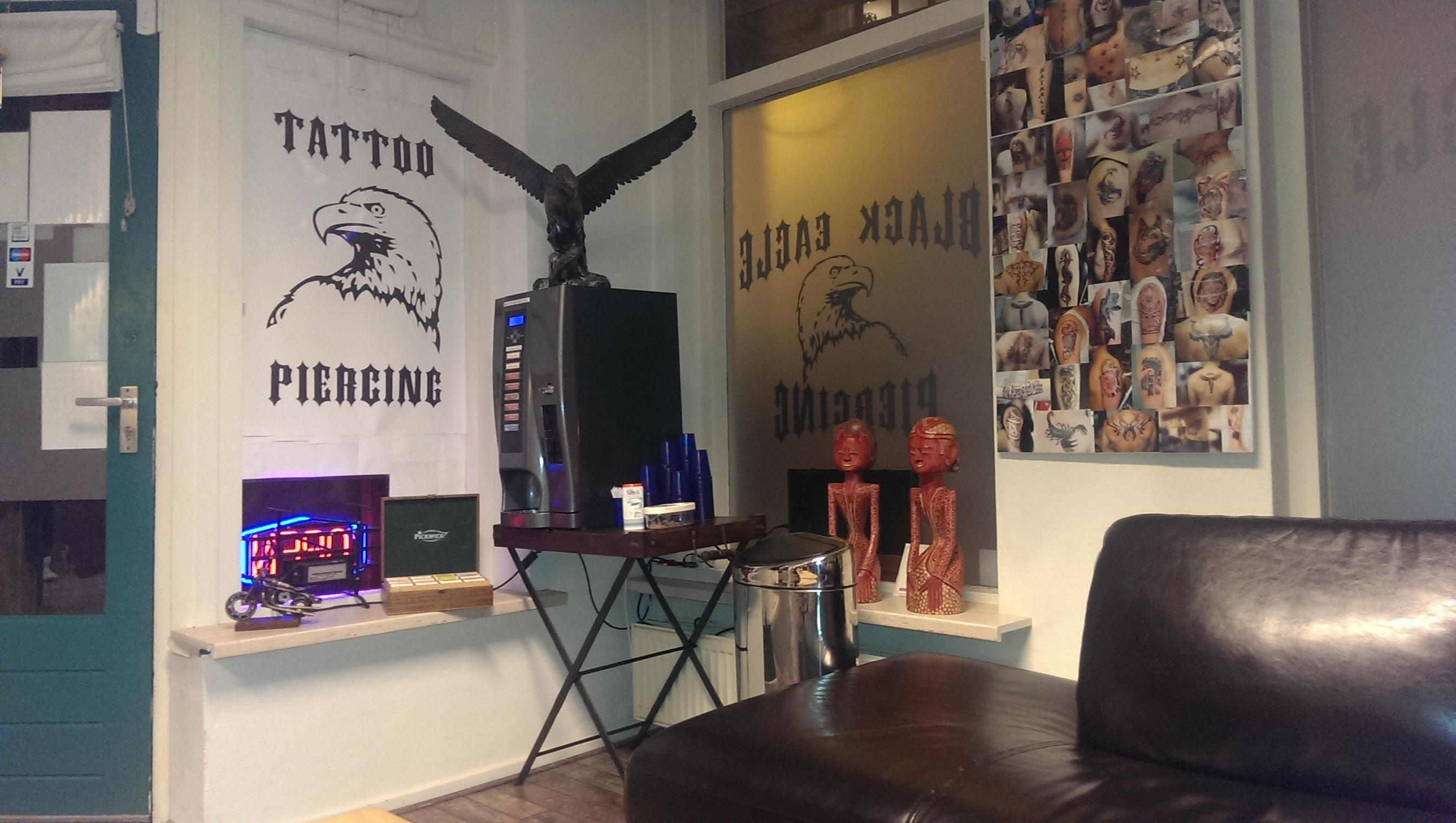 Tattoo shop voor al u tattoo 39 s en piercings in doetinchem for Black eagle tattoo shop