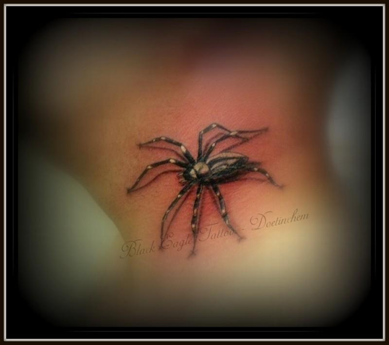 3D Spider Neck