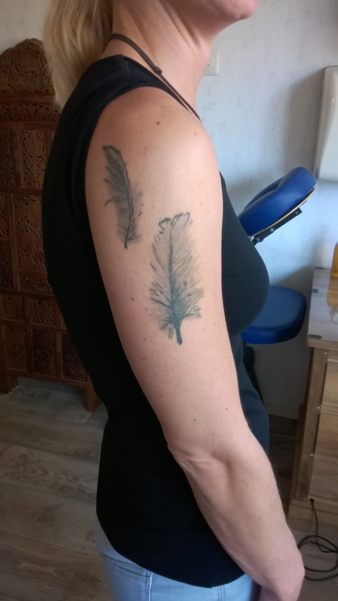 Feathers Forearm
